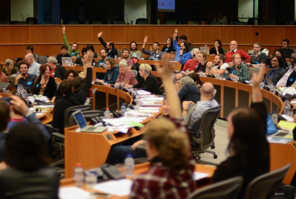 Assembly of European Commons hits Brussels and remarks its potential as an organising process