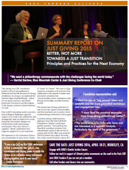 2015 Conference Report