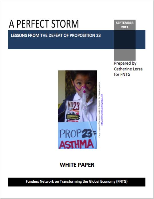 Prop 23 Case Study